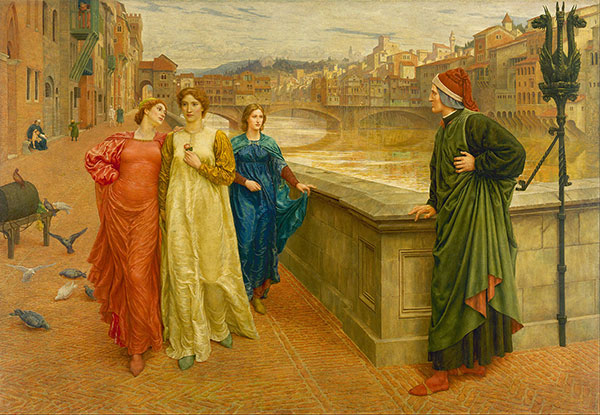 Henry Holiday's Dante and Beatrice
