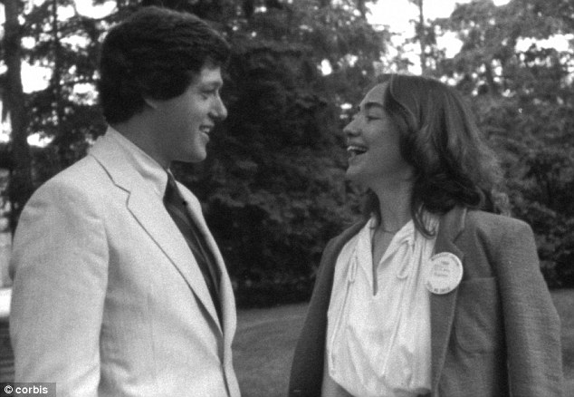 The Clintons in 1969