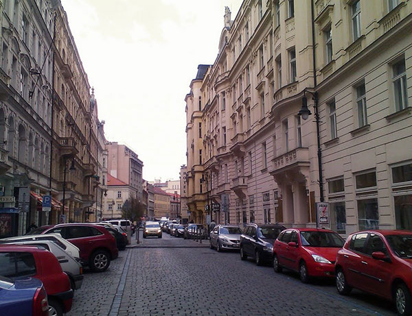 Dlouhá Street is one of the oldest streets in Prague