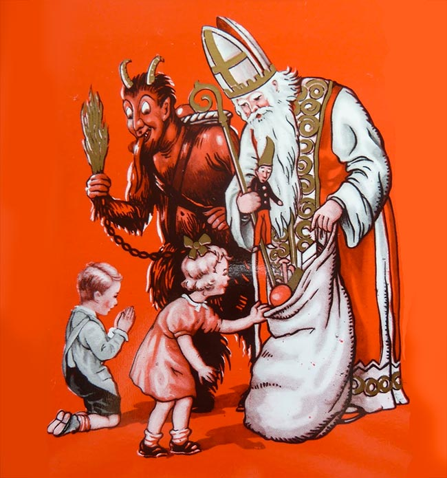 St. Nick and the devil