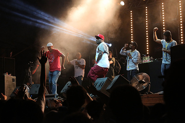 Slimkid3 and Fatlip at Donauinselfest 2013 by Manfred Werner