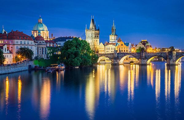 """Prague blue hour mystery"" by Alex Drop (CC)"