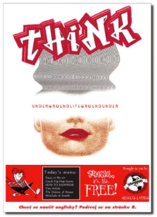 think magazine issue 1 cover