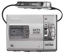 Sony's MZ-R50 MiniDisc